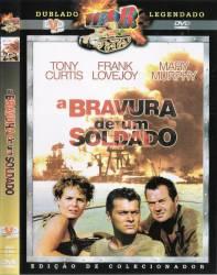 DVD A BRAVURA DE UM SOLDADO - TONY CURTIS