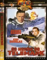 DVD OS HEROIS DO TELEMARK - KIRK DOUGLAS