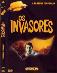 DVD OS INVASORES - 1 TEMP - 4 DVDs