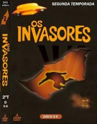 DVD OS INVASORES - 2 TEMP - 4 DVDs