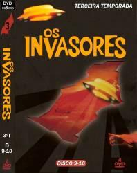 DVD OS INVASORES - 3 TEMP - 4 DVDs