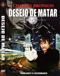 DVD DESEJO DE MATAR - 5 - CHARLES BRONSON
