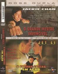 DVD O GRANDE MESTRE INVENCIVEL - O GUARDA COSTAS EM AÇÃO - 2x1