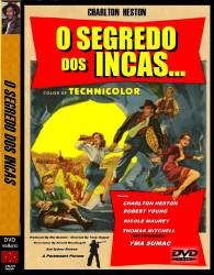 DVD O SEGREDO DOS INCAS - CHARLTON HESTON