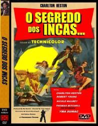 DVD O SEGREDO DOS INCAS - CHARLTON HESTON