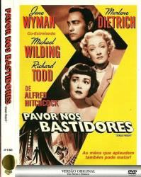 DVD PANICO NOS BASTIDORES - ALFRED HITCHCOCK - 1950