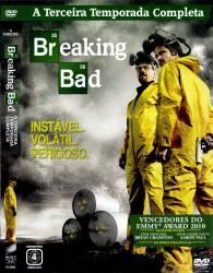 DVD BREAKING BAD – 3 TEMP - 4 DVDs