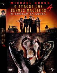 DVD O ATAQUE DOS VERMES MALDITOS - 4