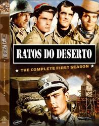 DVD RATOS DO DESERTO - 1 TEMP - 4 DVDs