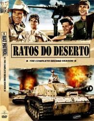 DVD RATOS DO DESERTO - 2 TEMP - 3 DVDs