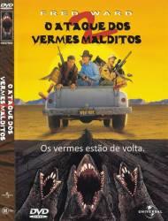 DVD O ATAQUE DOS VERMES MALDITOS - 2
