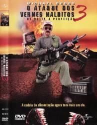 DVD O ATAQUE DOS VERMES MALDITOS - 3