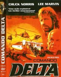 DVD COMANDO DELTA - DUBLADO - CHUCK NORRIS