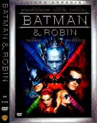DVD BATMAN E ROBIN - ARNOLD SCHWARZENEGGER