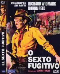DVD O SEXTO FUGITIVO - RICHARD WIDMARK