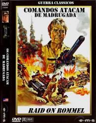 DVD OS COMANDOS ATACAM DE MADRUGADA - 1971