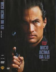DVD NICO - ACIMA DA LEI - STEVEN SEAGAL - DUBLADO e LEGENDADO