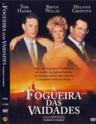 DVD A FOGUEIRA DAS VAIDADES - TOM HANKS
