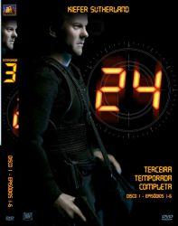 DVD 24 HORAS - 3 TEMP - 6 DVDs