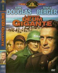 DVD A SOMBRA DE UM GIGANTE - KIRK DOUGLAS