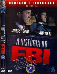 DVD A HISTORIA DO FBI - JAMES STEWART