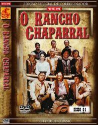 DVD CHAPARRAL - 1 TEMP - 4 DVDs