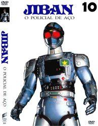 DVD JIBAN O POLICIAL DE AÇO - 10 DVDs