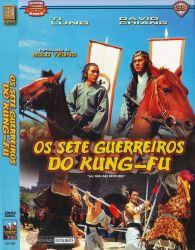 DVD OS SETE GUERREIROS DO KUNG FU