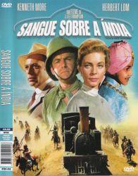 DVD SANGUE SOBRE A INDIA - KENNETH MORE