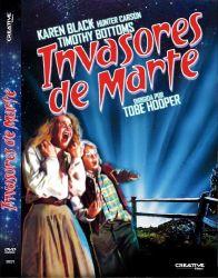 DVD INVASORES DE MARTE - 1986