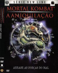 DVD MORTAL KOMBAT - A ANIQUILAÇAO