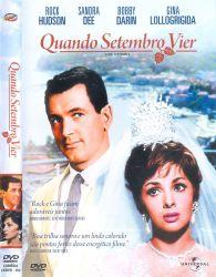DVD QUANDO SETEMBRO VIER - ROCK HUDSON