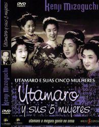 DVD UTAMARO E SUAS CINCO MULHERES - 1946