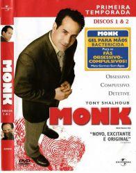 DVD MONK - 1 TEMP - 4 DVDs
