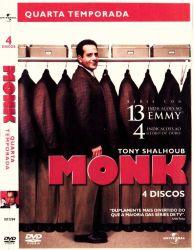 DVD MONK - 4 TEMP - 4 DVDs