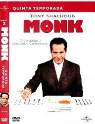 DVD MONK - 5 TEMP - 4 DVDs