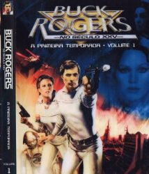 DVD BUCK ROGERS NO SECULO 25  - 1 TEMP - 6 DVDs