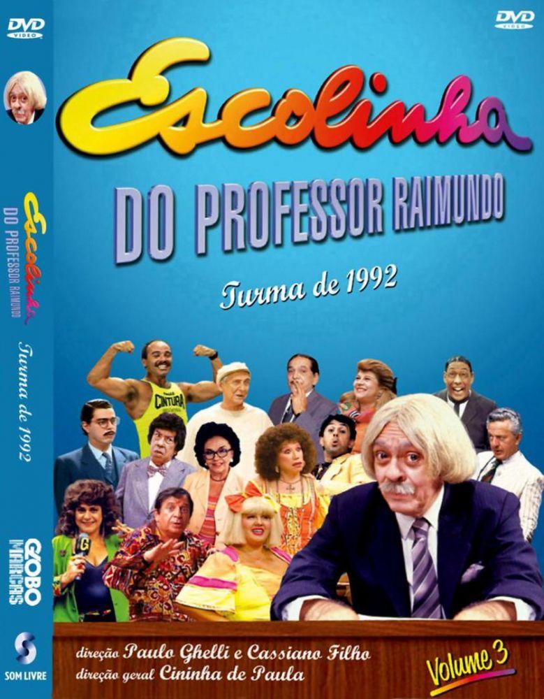 dvd escolinha do professor raimundo 1992