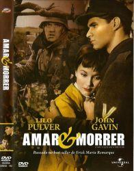 DVD AMAR E MORRER - 1958