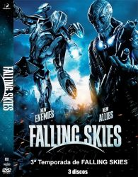DVD FALLING SKIES - 3 TEMP - 3 DVDs