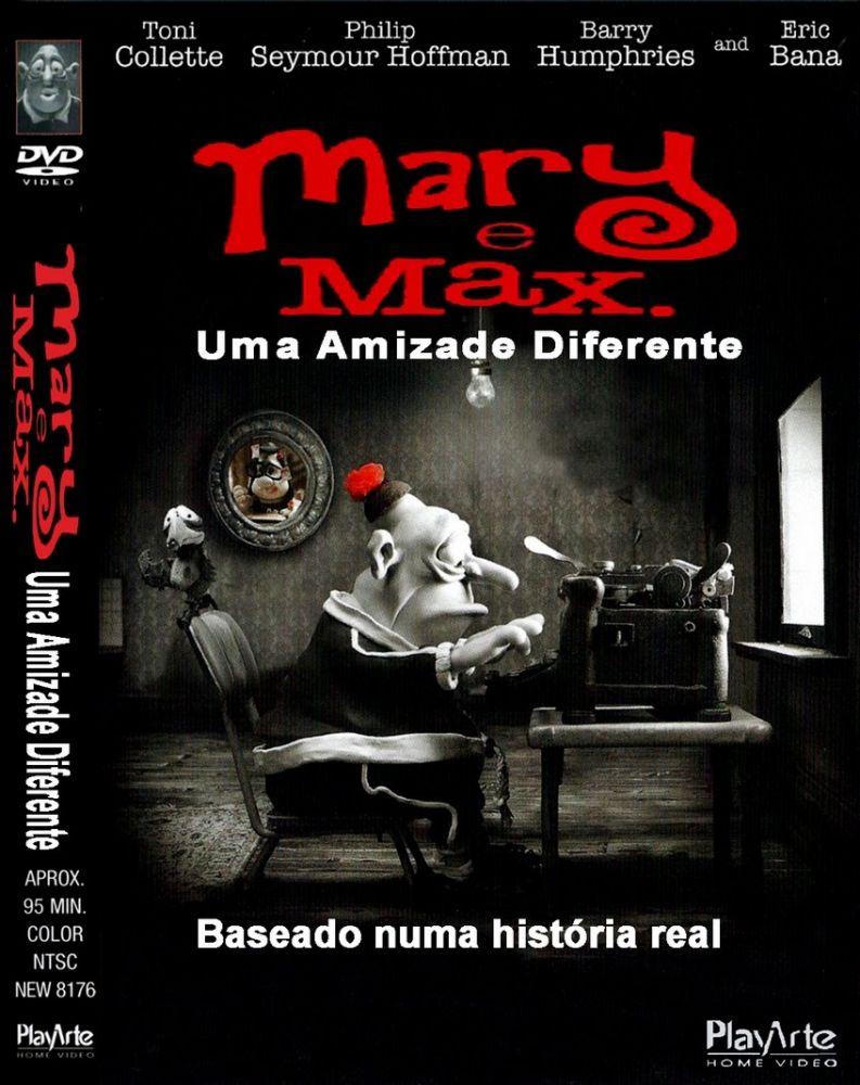 Spacetrek66 Dvd Mary E Max Uma Amizade Diferente