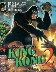 DVD KING KONG LIVES 2
