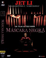 DVD MASCARA NEGRA - JET LI