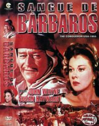 DVD SANGUE DE BARBAROS - JOHN WAYNE