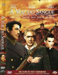 DVD A VOZ DO SANGUE - GREGORY PECK