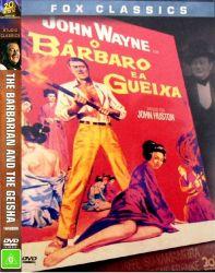 DVD O BARBARO E A GUEIXA - JOHN WAYNE