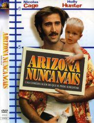 DVD ARIZONA NUNCA MAIS - NICOLAS CAGE