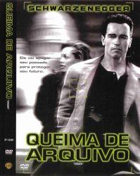 DVD QUEIMA DE ARQUIVO - ARNOLD SCHWARZENEGGER