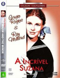 DVD A INCRIVEL SUZANA - 1942