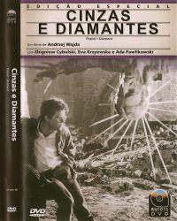 DVD CINZAS E DIAMANTES - 1958